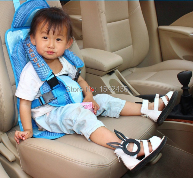 Free shipping portable Baby Kids children Car Seats Child safety car ...