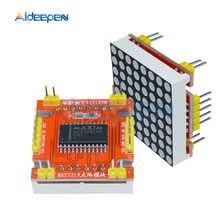 8x8 MAX7219 LED A Matrice di Punti, Catodo Comune Microcontrollore Display Rosso di Controllo del Modulo 5 V/3.3 V per arduino