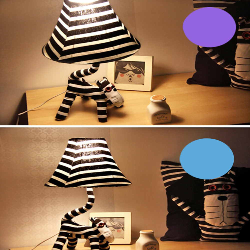High Quality Cartoon Kids Floor Lamp 110V/220V E27 Cute Cat Star People Led Floor Lamps Decorative Floor Lamps Bedside Lamp