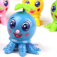 OOTDTY 2017 Octopus Cartoon Animal Wind Up Clockwork Design Toys Funny For Children MAR17 15