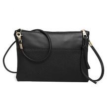 66cdb55214 2018 Fashion envelope Small Women Mini Messenger Bag Girls Soft Pu Leather Handbags  Shoulder Crossbody Hand