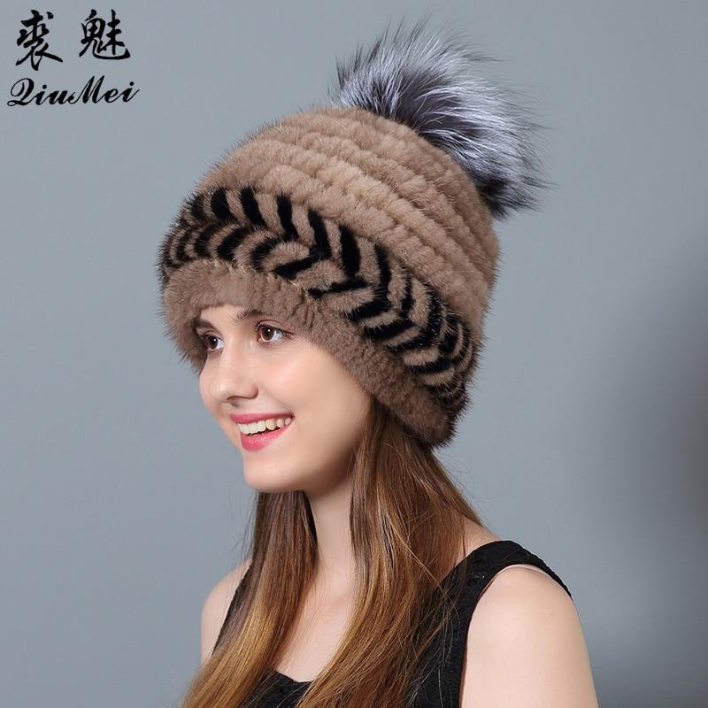 QiuMei Ženske klobuke iz naravne kože iz umetne kože Novo bežice - Oblačilni dodatki - Fotografija 4
