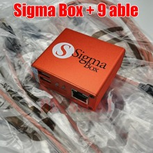 2018 version original  Sigma box   9 cables Sigma Box with Cable Set (9 pcs)