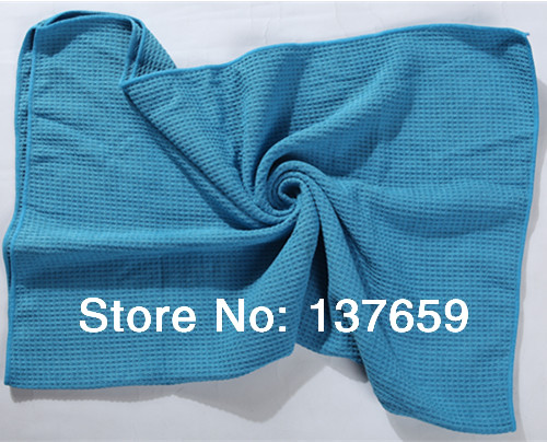 Us 23 5 Ultra Absorbent Waffle Weave Microfiber Bath Towel 70 90cm In Hair Towels From Home Garden On Aliexpress Com Alibaba Group