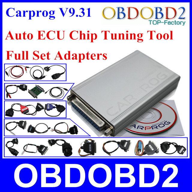 2015 Top-rated Auto Repair Tool Carprog V9.31 Newest Version With Full 21 Adaptors For Radio,Odometer,Dashboard,Immobilizers