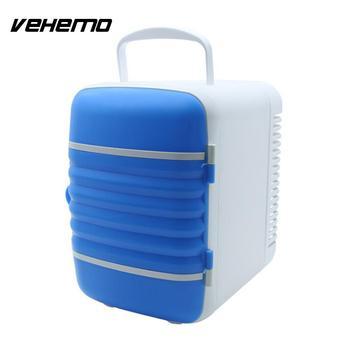 Vehemo двойной Применение 4L прочный Портативный переносной холодильник потепление охлаждения автомобильный холодильник морозильник путешес...