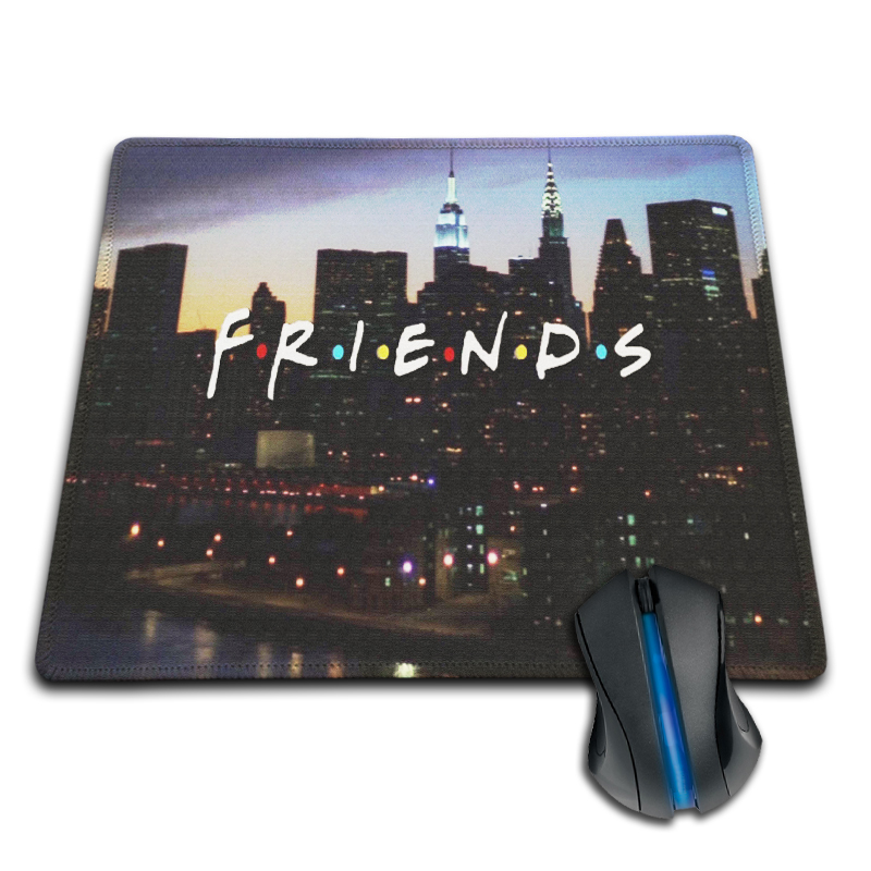 Babaite Sales Gaming Mousepad Friends in Manhattan Promotion Retail Mouse Pad Custom Computer Gaming Anti-Slip Rubber Mouse Pad