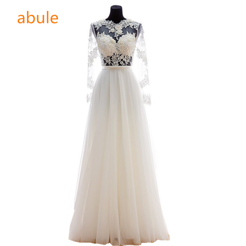 LAMYA Customized Ball Gown Lace Three Quarter Boat Neck Wedding Dresses  2018 Princess Plus Size Bridal ... b1170847799d