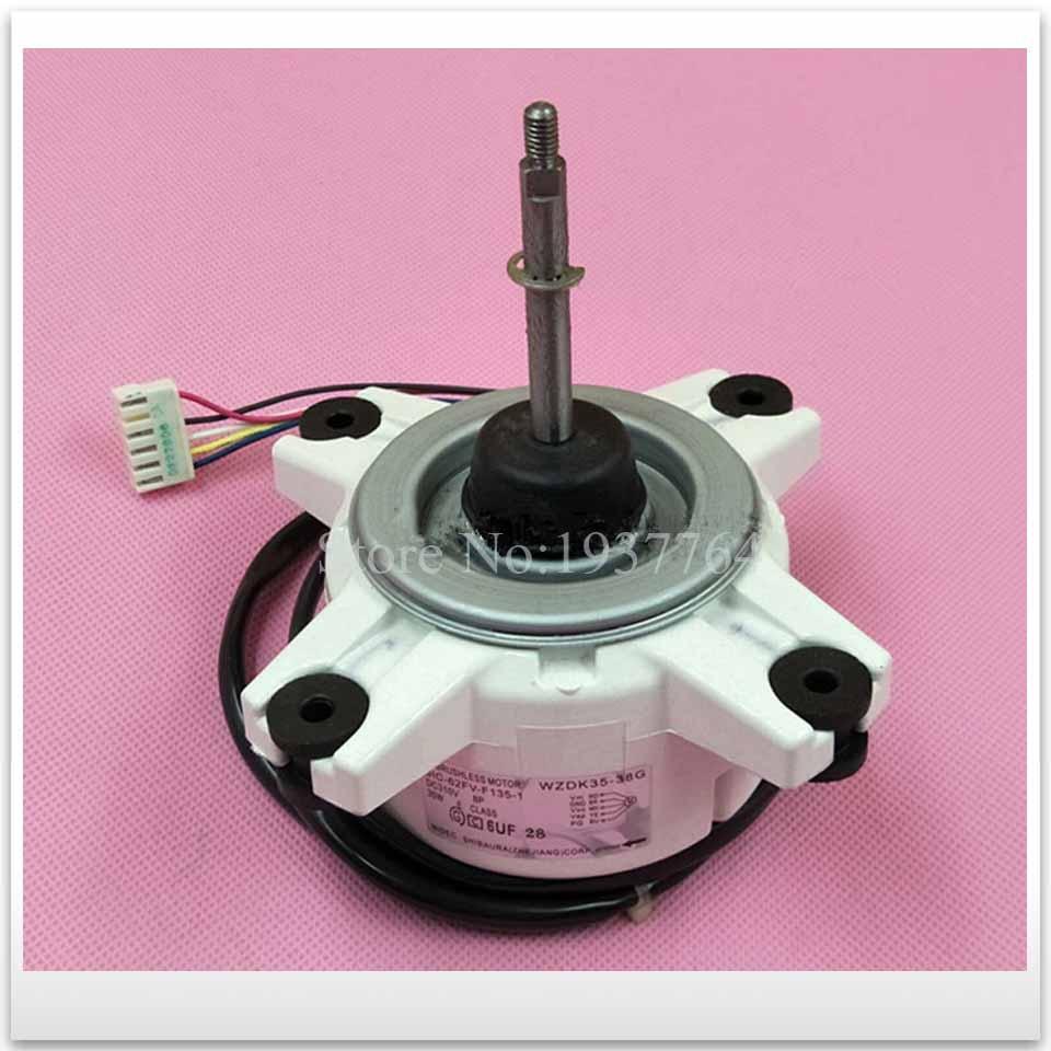 90% new for air conditioner motor SIC-62FV-F135-1 WZDK35-38G Fan motor good working elsker 38g