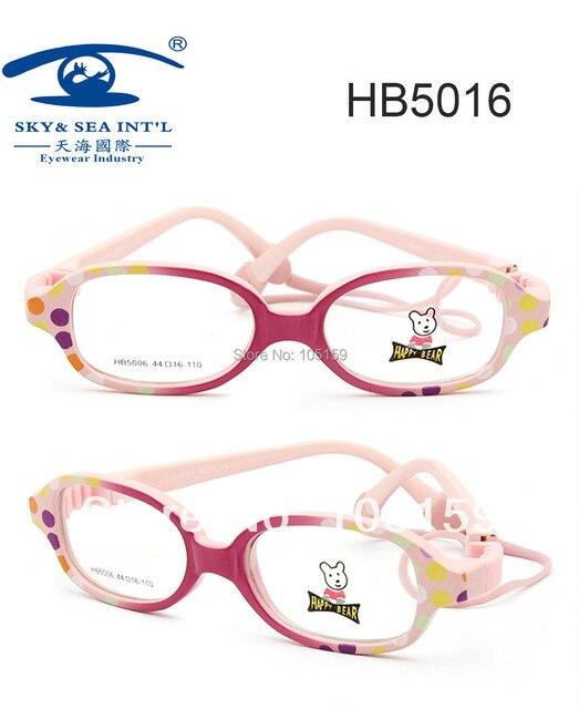 (10 pcs lot) Murah Grosir Anak Kacamata Bingkai Merek Italia Designer  Screwless Perempuan 09cb9076a0