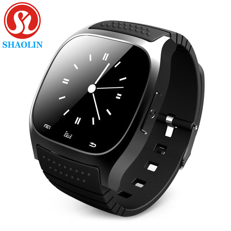 SHAOLIN Bluetooth Smart Watch Phone Wearable Devices SmartWatch For Apple Android IOS Mobile Phone PK GT08