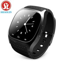 Shaolin bluetooth smart watch smartwatch teléfono dispositivos portátiles de apple Android IOS Teléfono Móvil PK GT08 DZ09 U8 A9 IWO 1:1