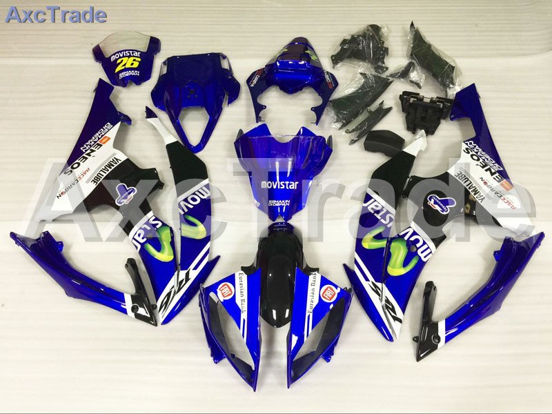 Motorcycle Fairings Kits For Yamaha YZF600 YZF 600  R6 YZF-R6 2008-2014 08 - 14 ABS Injection Fairing Bodywork Kit White Black hot sales yzf600 r6 08 14 set for yamaha r6 fairing kit 2008 2014 red and white bodywork fairings injection molding