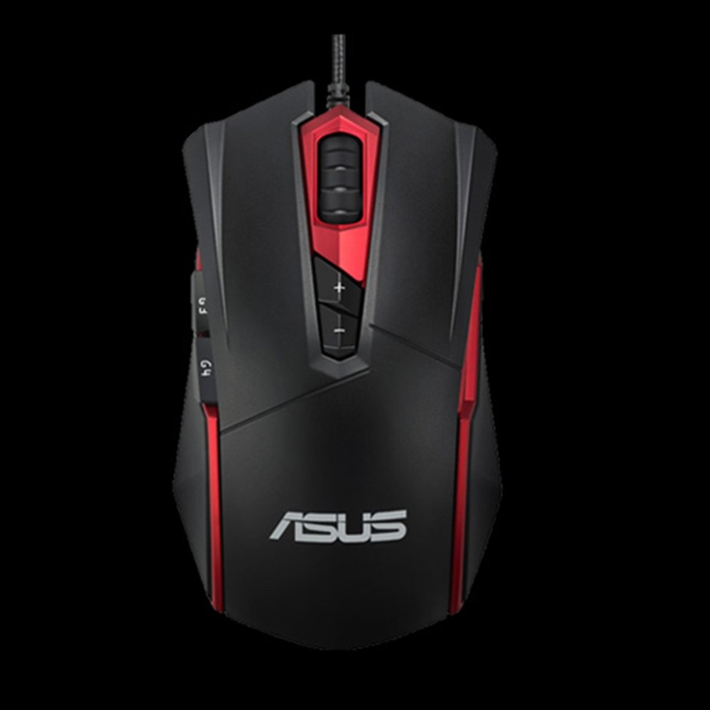 ASUS GT200 Gaming Mouse High Performance 4000DPI USB Wired Durability RGB Light Optical Mouse For PC Laptop i rocks 7810r usb 2 0 wired 1800dpi optical gaming mouse white silvery grey