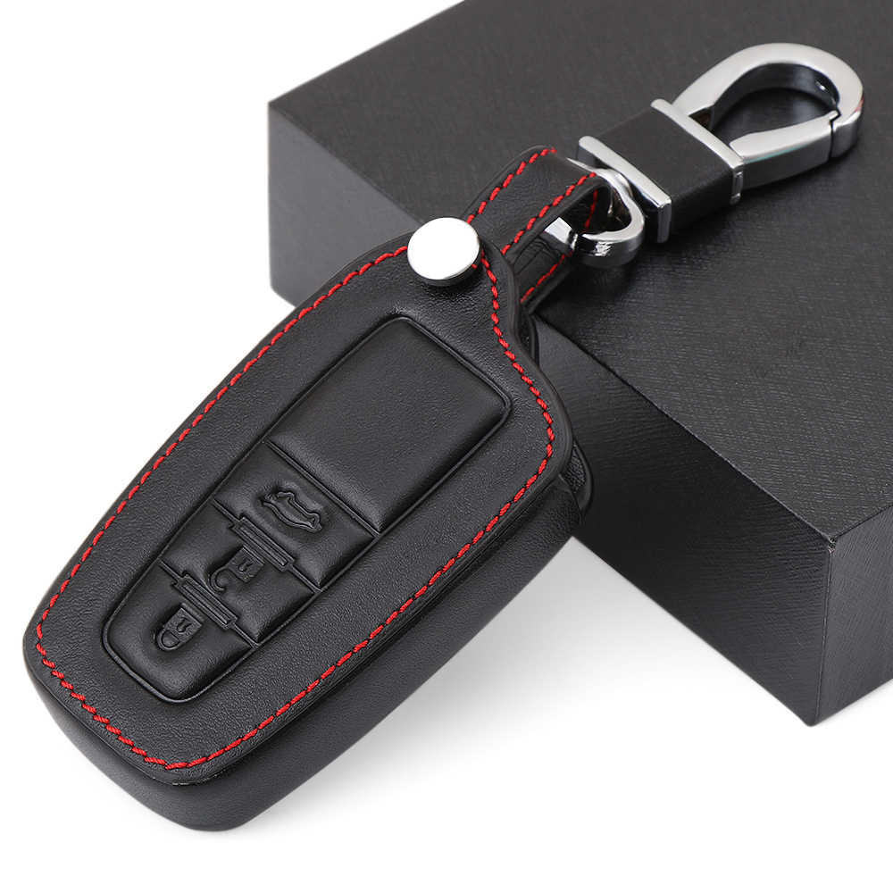 2018 Toyota Rav4 Head Gasket: Leather Car Key Cover Case Skin Set Fit For Toyota Camry