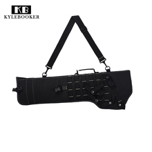 Tactical Rifle Scabbard Molle Rifle Carrying Bags Military holster Army Shotgun  Hunting Bag  Shoulder Bag For Short Barre 19tactical ak rifle scabbard molle bag military shoulder sling padded shotgun holster backpack