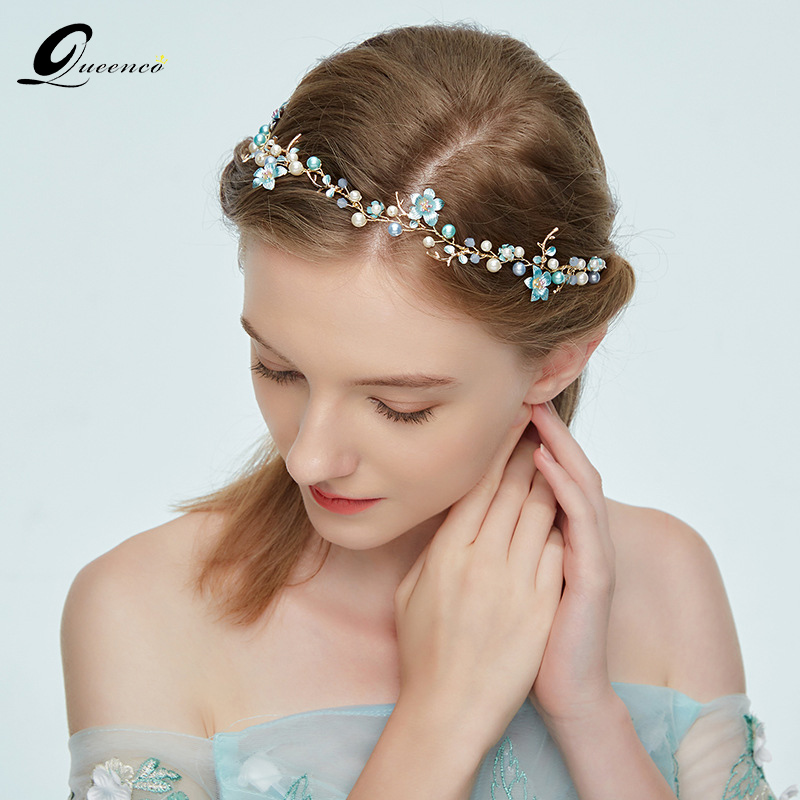 Gold Color Crystal Headband Women/'s Hair Accessories