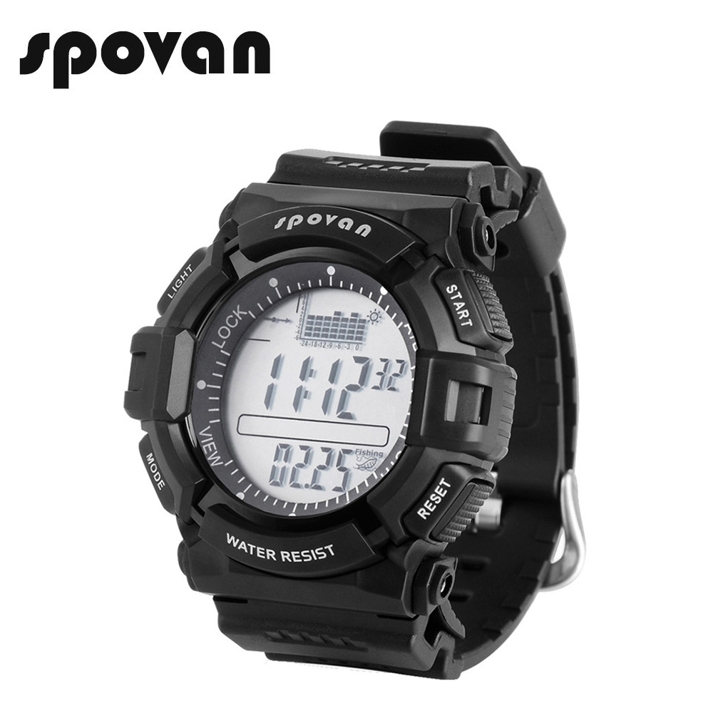Digital Watches Men's Watches Spovan Multifunction Mens Watch 50m Waterproof Led Backlight Compass 3d Pedometer Calorie Count Military Sport Watches Leader2 A Great Variety Of Models