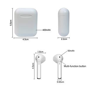 Image 3 - الأصلي i11 tws التوائم سماعات لاسلكية بلوتوث صغير V5.0 سماعة ستيريو سماعة لجميع أنواع هاتف ذكي