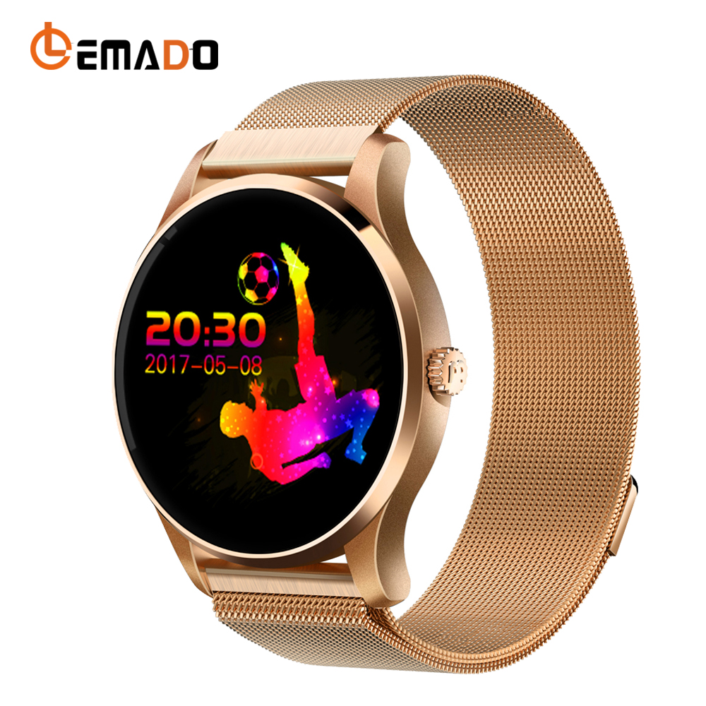 Lemado K88 Smart Watch Heart Rate Smartwatch Bluetooth Wearable Devices Remote Camera Electronics Reloj Inteligente Wristwatch