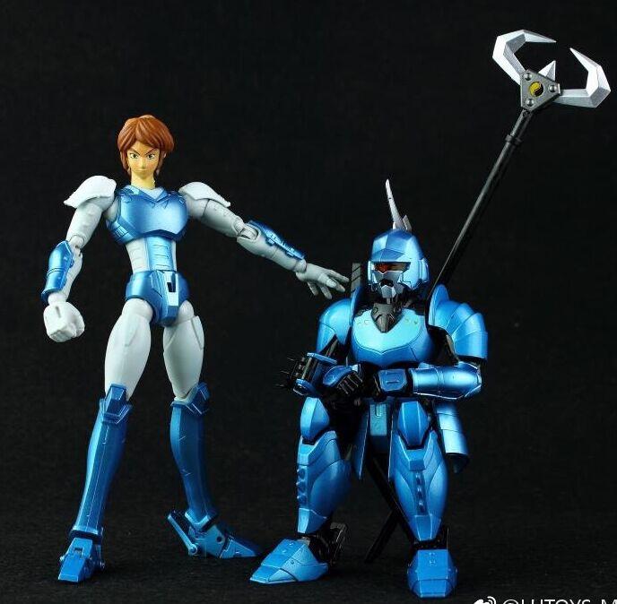 hitoy model Shin Mouri YoroiDen Samurai Troopers Ronin Warriors action figure toy metal armor(China)