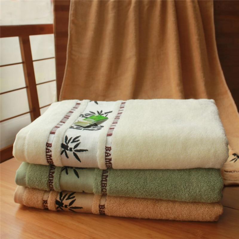 Novi 70x140cm bijeli ručnici od pamučnog ručnika za kupanje mekani - Tekstil za kućanstvo - Foto 2