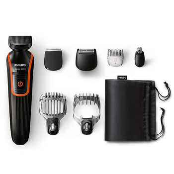 PHILIPS QG3340/16 Multi-functional Kit Hair Trimmmer Professional with Waterproof Automatically Grind Head for Men Hair Clippe - DISCOUNT ITEM  17% OFF All Category