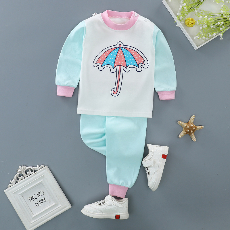 2pcs/set 2017 new winter baby girls clothes Set Fashion clouds style Newborn Baby Girl Clothes cotton Ropa Suit Menino