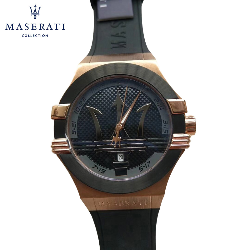 Maserati Mens Watches 2018 Fashion Top Brand Luxury Quartz Wristwatches Round Waterproof Sport Wrist Watches R8853301013 часы maserati