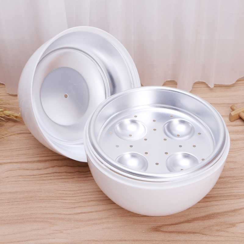 Microwave Egg Steamer Boiler Cooker Easy Quick 5 Minutes Hard or Soft Boiled