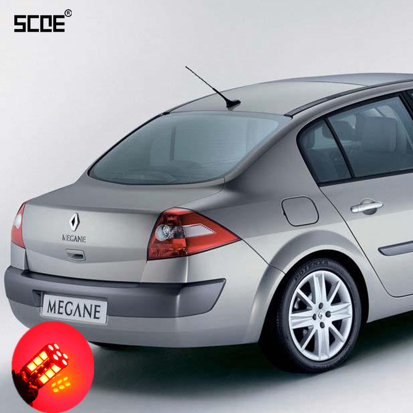 For Renault Megane 2 SCOE 2015 New High Quality 2X 30SMD LED Brake /Stop /Parking Rear /Tail Bulb /Light Source Car Styling