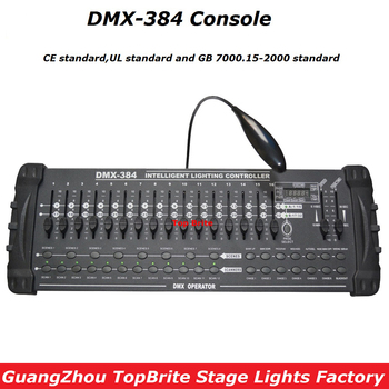Factory Price High Quality DMX 384 Controller, For Stage Lighting 512 DMX Console DJ Disco Controller Equipments Free Shpping 2xlot big discount 6 channel simple dmx controller for stage lighting 512 dmx console dj controller equipments free shipping