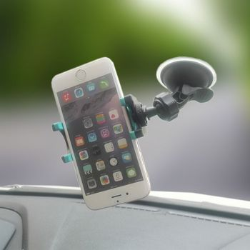 Universal Car Phone Holder Window Mount Mobile Phone Holder for iphone Car Driving Recorder Holder 14 screw mobile phone