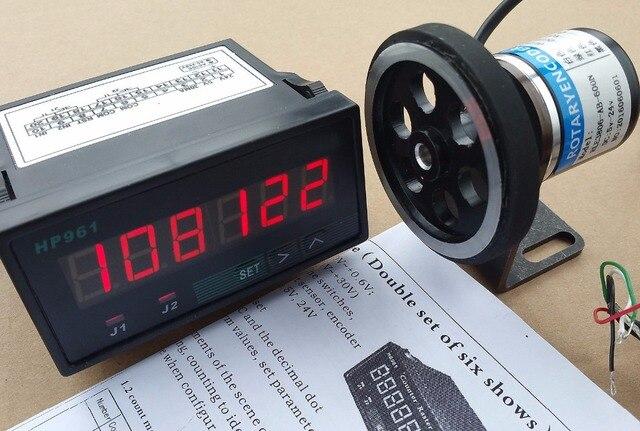 8 дюймов Длина колеса + кодер + Поддержка + Счетчик решетка Дисплей метр Наборы