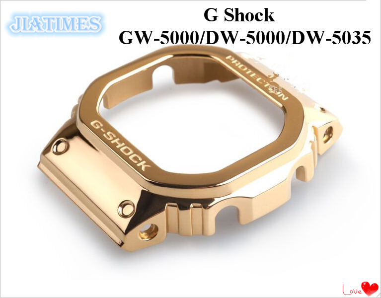 GW-5000 DW-5000 DW-5035  Gold Stainless Steel Bezel | Repair Tools & Kits