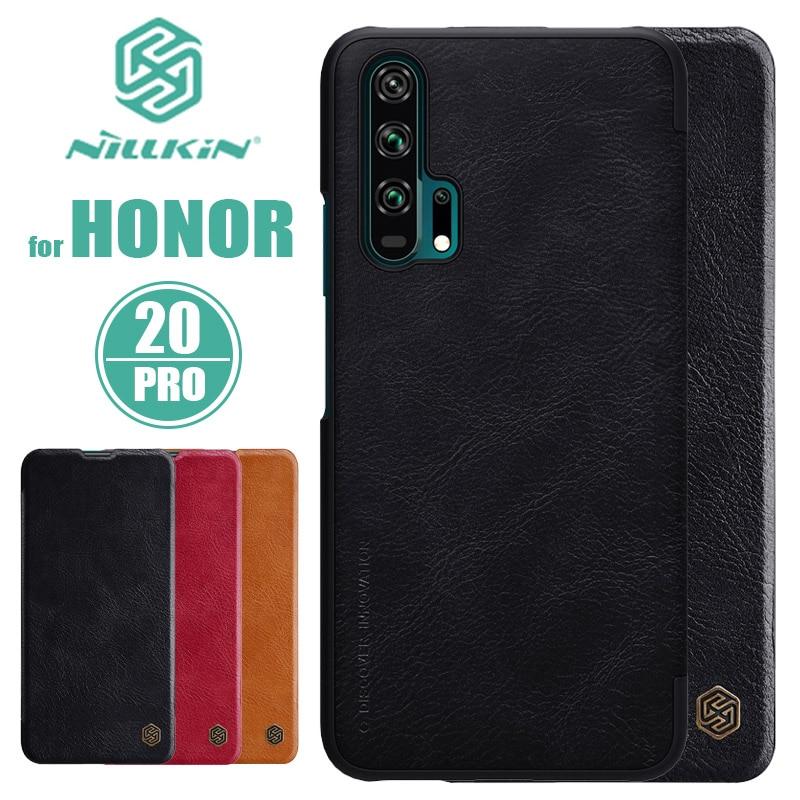 Funda de cuero con tapa Nillkin Qin para Huawei Honor 20 Pro para Huawei Honor 20 Pro Nilkin cubierta Capa Versión Global Xiaomi QIN 2 Pro Pantalla Completa Phon e 4G Red con Wifi 5,05 pulgadas 2100mAh Android 9,0 SC9863A Octa Core característica