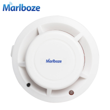 Free Shipping 1pcs Wireless Photoelectric Smoke Fire Detector for Wireless Home Security Auto Dial Alarm System Smog Sensor