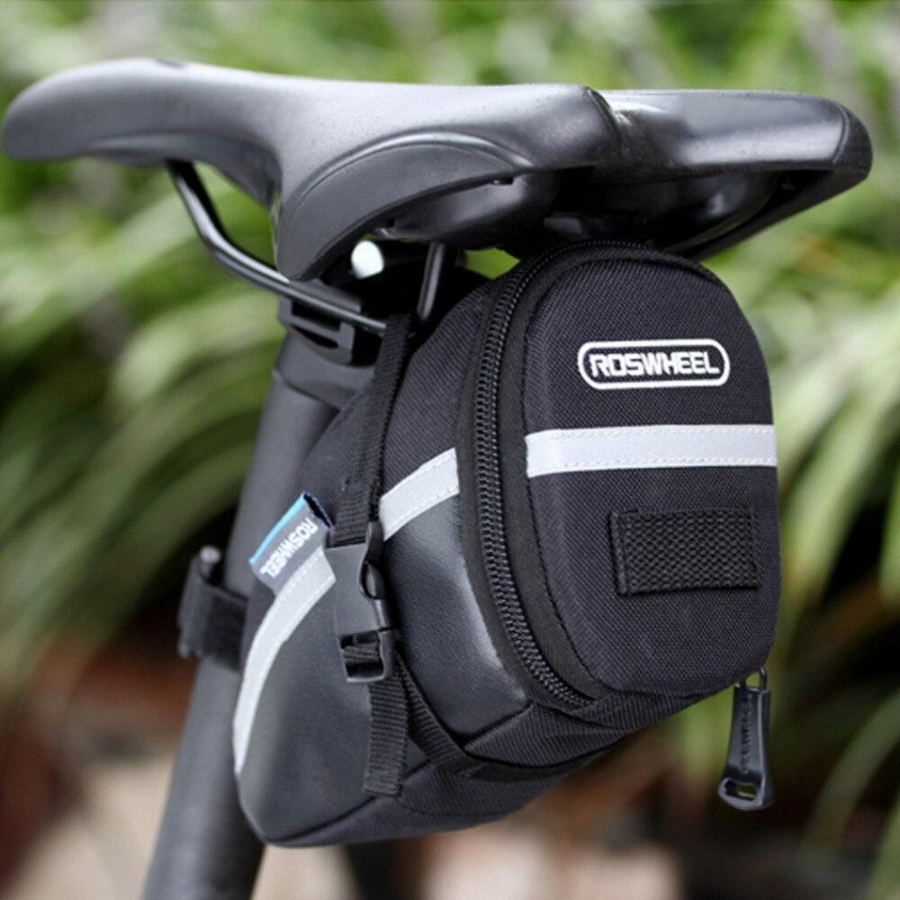 Bicycle Saddle Bags Waterproof Tail Bag Hard Shell for Mountain Bike Seat Bag