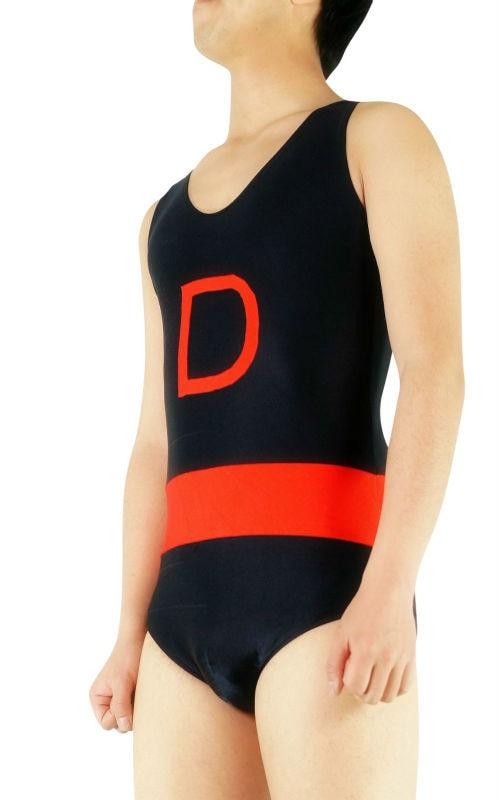 BetterParty Black Sleeveless Spandex Lycra Unitard Zentai Leotard Bodysuit