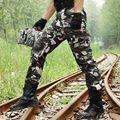 Pantalones de Los Hombres Basculador Tatico militar de Carga Pantalones de Camuflaje Pantalones de Combate Táctico Resistente Al Desgaste resistente a Los Arañazos Ganso Salvaje