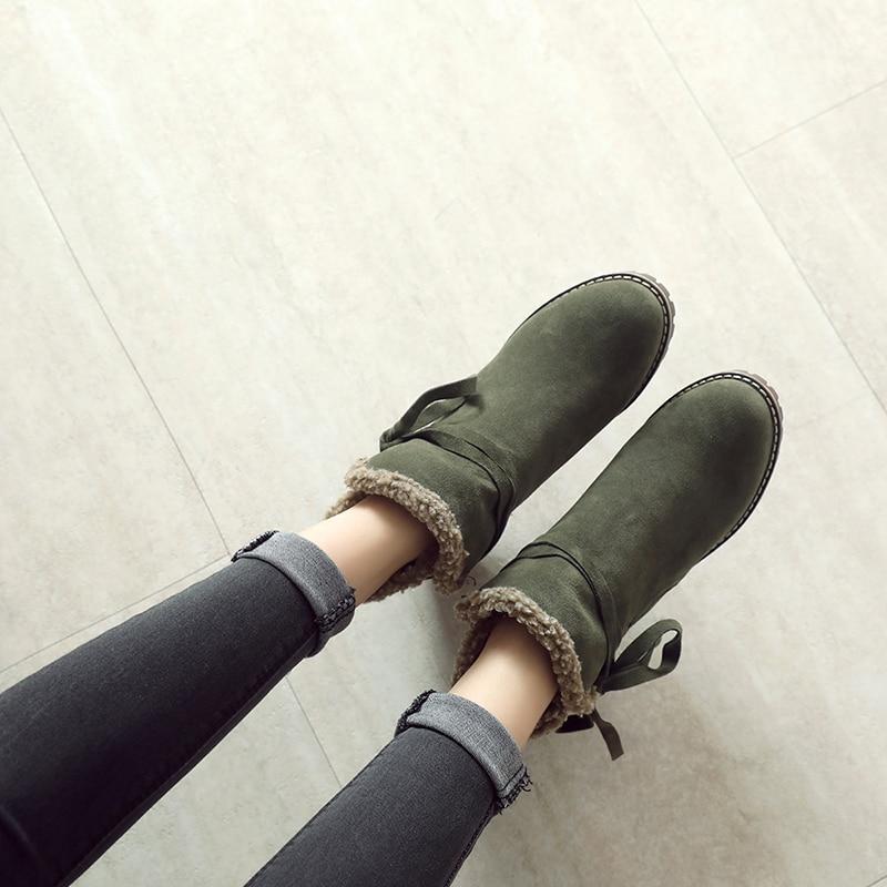 Botas 35 Tobillo Cm Cuadrado Alto green Black Ejército Zapatos Tamaño Plus Tacón Verde Ronda Las Nueva 43 khaki 6 Mujeres De La Para Martin Toe Del Mujer Plataforma 5t1qXw