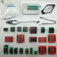 TL866A TL866 High Speed Universal Minipro Programmer Support ICSP FLASH EEPROM MCU PLCC TSOP 21 Adapters