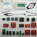 Minipro TL866A TL866 Alta velocidade Universal Apoio Programador ICSP FLASH \ EEPROM \ PLCC \ TSOP MCU + 21 adaptadores + IC test clip/braçadeira IC