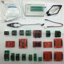 TL866A TL866 Haute vitesse Universel minipro Programmeur Soutien ICSP FLASH  EEPROM  MCU PLCC  TSOP + 21 adaptateurs + IC test clip/IC pince