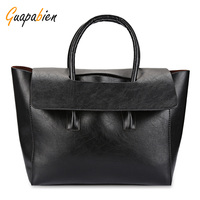 2017 New Fashion Black Brown Gray Women Tote Bag High Quality Brand Large Capacity Female Casual