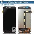 Thor Vernee Display LCD e Montagem da Tela de Toque Parte Repair 5.0 polegada Do Telefone Móvel Acessórios Para Vernee Thor + Rastreamento número