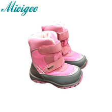 Mioigee 2017 -30 degree Russia winter shoes boys girls shoe Outdoor Waterproof non-slip children shoes