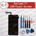 Coolpad f1 originais tela de lcd 1280x720 hd 5.0 polegada display lcd + substituição da tela de toque para coolpad f1 grande deus 8297 w celular
