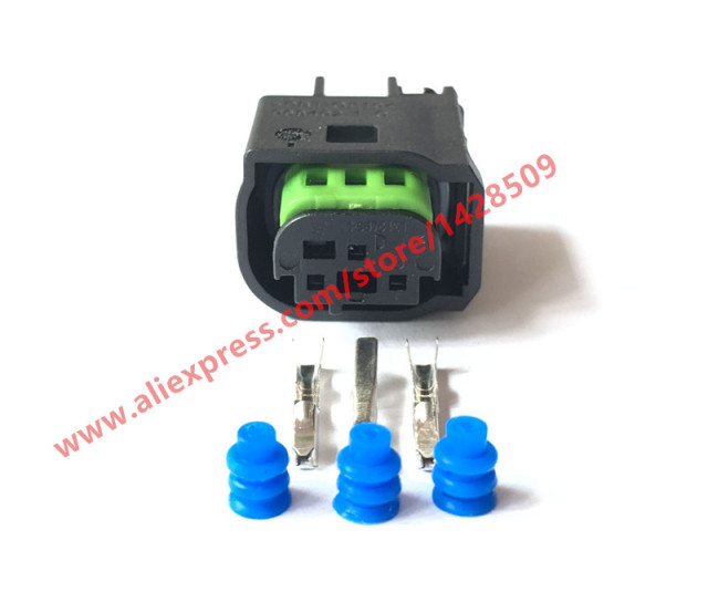 5 Sets 3 Pin Connector Female Waterproof Wire Harness Connector For Benz BMW 1 967642 1_640x640 5 sets 3 pin connector female waterproof wire harness connector 4 wire harness connector at bayanpartner.co