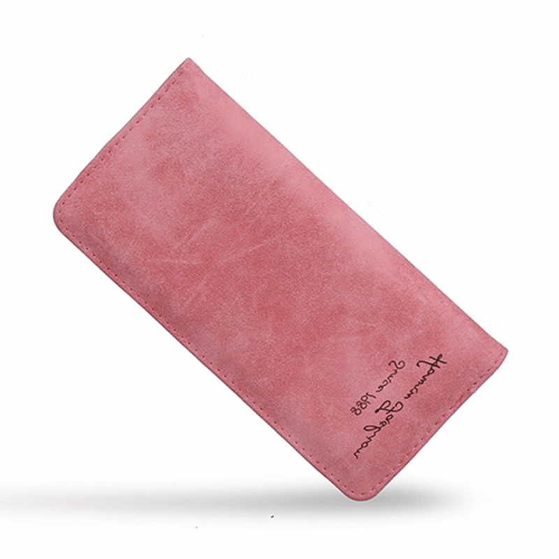 Women Wallet Small Leather Vintage Fashion High Capacity Ladies Tassel Slim Phone Card Long Zipper Female Purse Women's Wallet